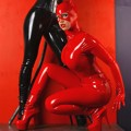 Red Catwoman Bianca Beauchamp